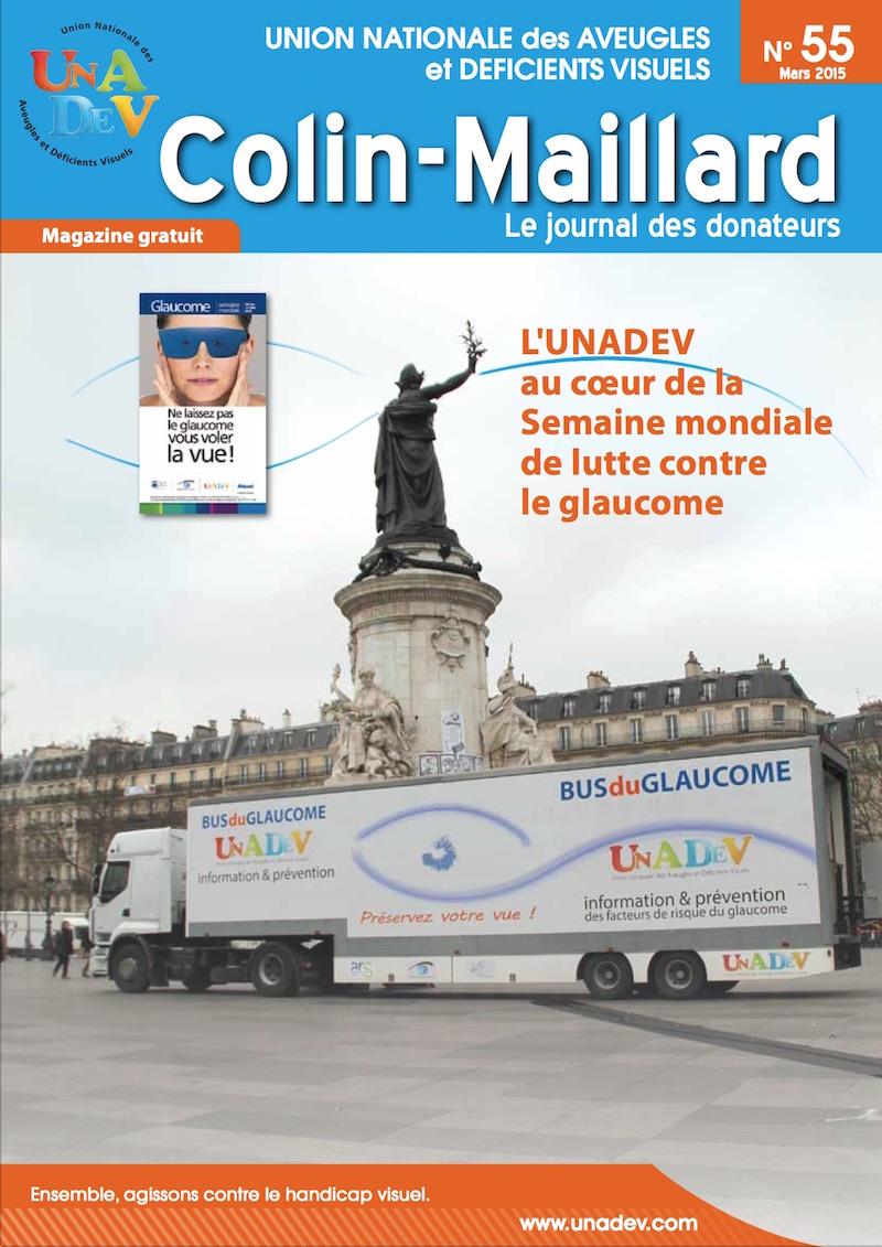 Couverture du magazine Colin Maillard 55