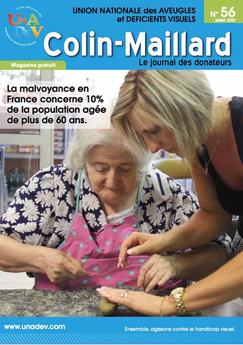 Couverture du magazine Colin Maillard 56