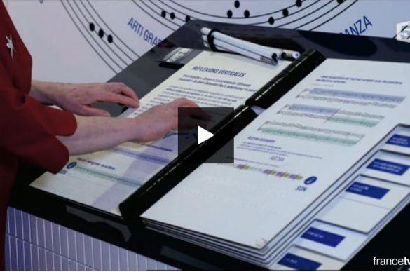 Emission A vous de voir sur l'avenir du braille