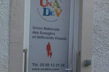 Entrée centre UNADEV Pau
