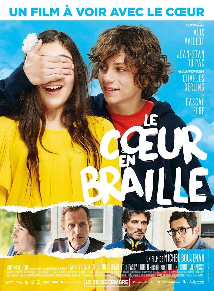 """Affiche du film """"Le cœur en braille"""""""