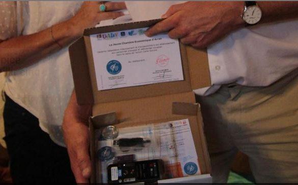 Exemple d'un Kit cartes sonores