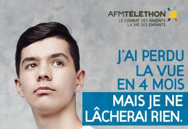 Matthieu, atteint de la neuropathie optique de Leber.