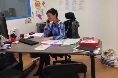 Maud Rupp, assistante administrative centre UNADEV PACA