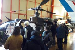 Découverte de l'hélicoptère militaire