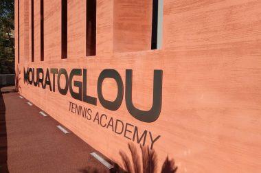 Le site de la Mouratoglou Tennis Academy à Biot près de Nice