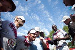 L'équipe de cécifoot des Girondins de Bordeaux UNADEV