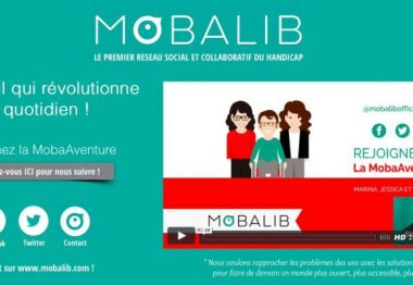 Affiche descriptive du concept Mobalib