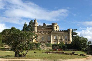 Chateau vu de l'extérieur