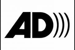 Un A et un D avec des ondes, le logo