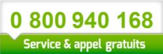 Le numéro de téléphone gratuit de l'UNADEV est 0 800 940 168