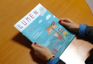 Couverture d'un magazine Lumen