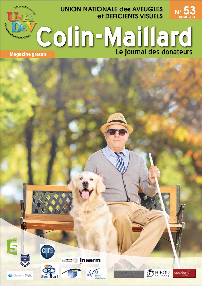 Couverture du magazine Colin Maillard 53