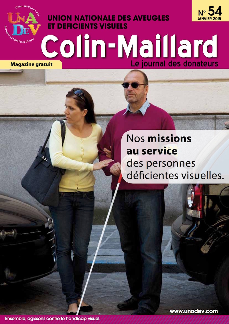 Couverture du magazine Colin Maillard 54