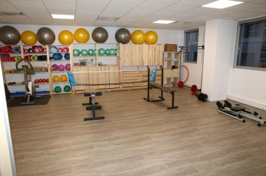 Salle de sport - loisirs au centre UNADEV de Lyon