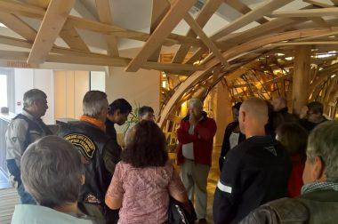 Visite de l'écomusée à Montlieu-la-Garde
