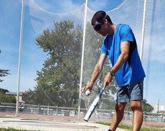 Entraînement au Bip Baseball avec bandeau