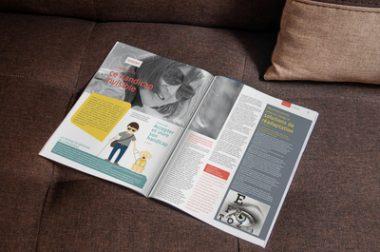 """Dossier """"Ce handicap invisible"""" dans le magazine LUMEN n°3"""