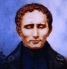 Portrait de Louis Braille dessiné