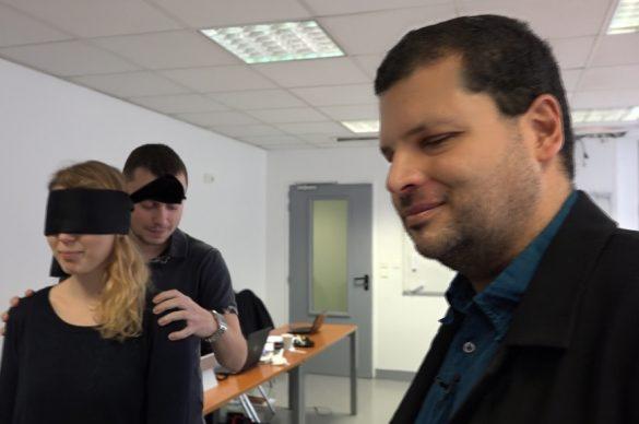 Franck Pruvost lors d'un de ses cours