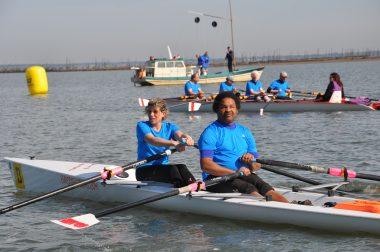 L'avion en double avec Sophie, éducatrice sportive, et Marc, adhérent à l'UNADEV