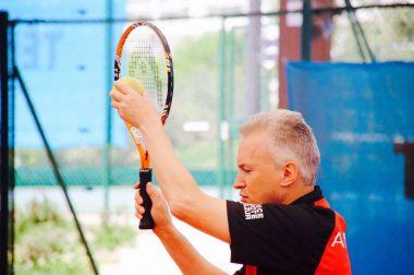 Jean-Philippe de l'équipe ANICES, concentré lors du match