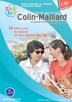 Couverture du magazine des donateurs de l'UNADEV n°62