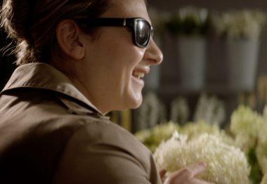 Cendrina, bénéficiaire UNADEV, dans le spot TV sur les legs