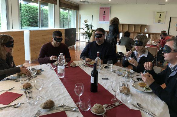 Dejeuner avec masque UNADEV