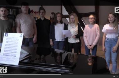 Chorale avec Maximilien
