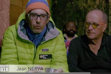 Jean Nerva et Serge Muller côte à côté assis