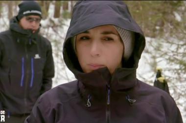 Nadia dans les bois sibériens