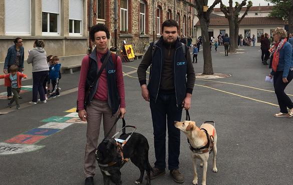 Educateurs avec chiens