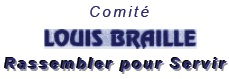 Comité Louis Braille - partenaire UNADEV