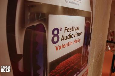 Affiche du festival Audiovision