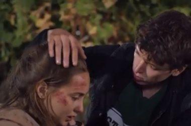jeune fille blessée