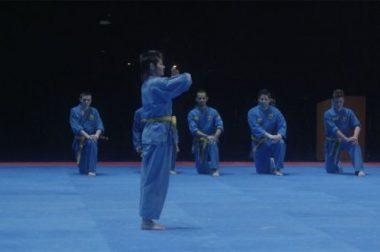 Laurence sur tatamis en kimono