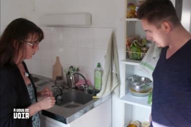 cuisine, Enszo sa mère