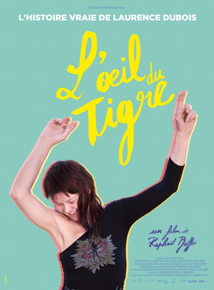 """L'affiche du film """"L'oeil du tigre"""" soutenu par l'UNADEV"""