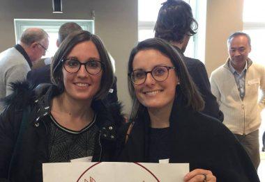 Portrait de Mélanie et Elise, de l'équipe sensibilisation de l'UNADEV