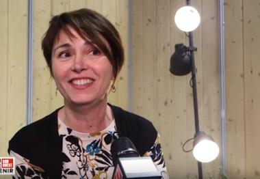 Marie-Pierre Pallier de l'UNADEV interrogée pour le forum santé et avenir
