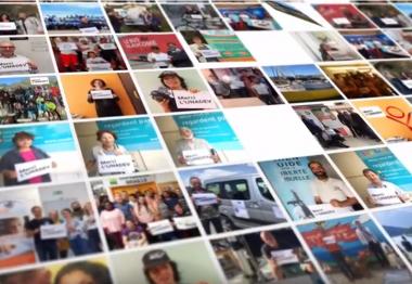 Les partenaires de l'UNADEV remercient l'association dans une vidéo