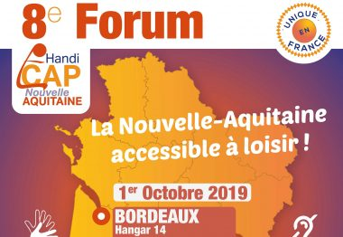 Affiche du Forum Handi Cap Nouvelle-Aquitaine 2019