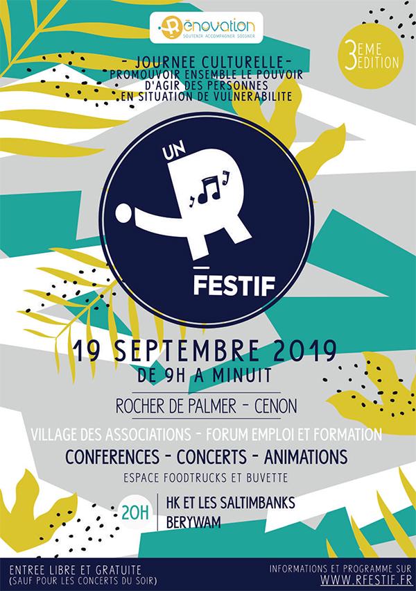 Affiche événement Un R Festif 2019