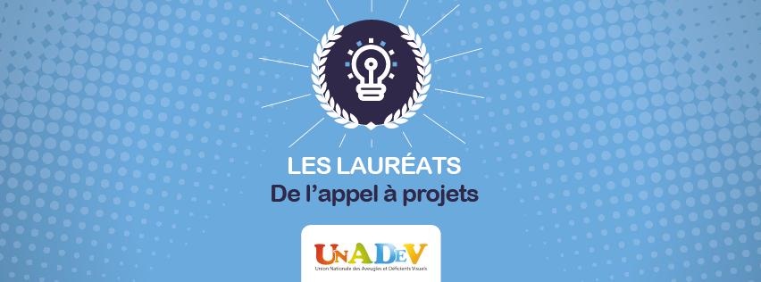 Lauréats appel à projets UNADEV