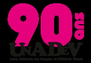 Logo 90 ans de l'UNADEV