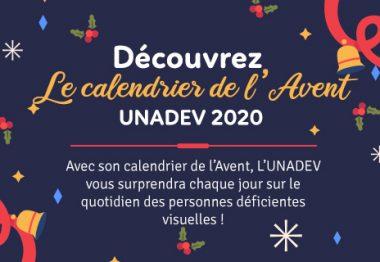 Découvrez le calendrier de l'Avent UNADEV 2020