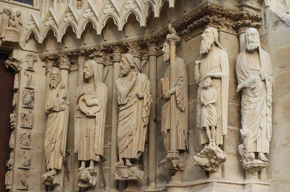 cathedrale de reims sculptures
